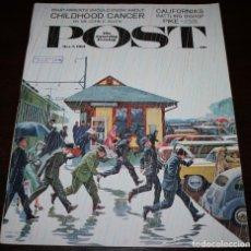Coleccionismo de Revistas y Periódicos: REVISTA - THE SATURDAY EVENING POST - 7/OCTUBRE/1961 - ILUSTRADOR PORTADA: JOHN FALTER - EN INGLÉS. Lote 97490395