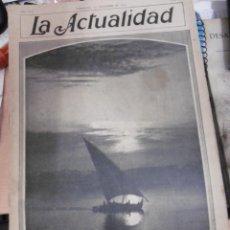 Coleccionismo de Revistas y Periódicos: ACTUALIDAD,LA (REVISTA SEMANAL ILUSTRADA) Nº184 BARCELONA (7-2-1910). Lote 97522199