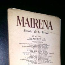 Coleccionismo de Revistas y Periódicos: MAIRENA REVISTA DE LA POESIA / 1954. Lote 97639079