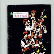 Coleccionismo de Revistas y Periódicos: TRANSPORTES DE BARCELONA, S..A. BOLETIN INFORMATIVO. AÑO 1969. 6 UNIDADES.. Lote 97686579
