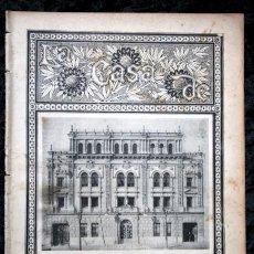 Coleccionismo de Revistas y Periódicos: 1899 - LA CASA DE BLANCO Y NEGRO - NUMERO ESPECIAL - FOTOGRAFIAS - COMO SE HACE LA REVISTA - 32 PÁG.. Lote 97703739