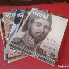 Coleccionismo de Revistas y Periódicos: 8 REVISTAS SAUDI ARAMCO WORLD ISLAM AMÉRICA CHINA MIDDLE EAST DOHA ARABIA MOROCCO AL ANDALUS MUSLIN.. Lote 97705491