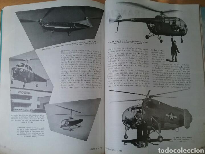 Coleccionismo de Revistas y Periódicos: Lote 3 revistas antiguas de aviación Skyways.Años 40. - Foto 4 - 97738474
