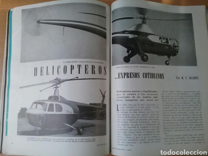 Coleccionismo de Revistas y Periódicos: Lote 3 revistas antiguas de aviación Skyways.Años 40. - Foto 5 - 97738474