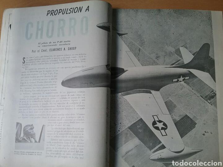 Coleccionismo de Revistas y Periódicos: Lote 3 revistas antiguas de aviación Skyways.Años 40. - Foto 6 - 97738474