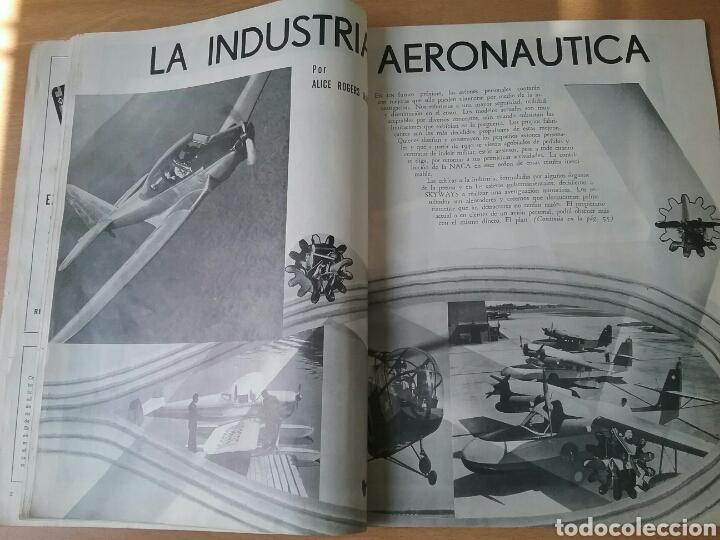 Coleccionismo de Revistas y Periódicos: Lote 3 revistas antiguas de aviación Skyways.Años 40. - Foto 7 - 97738474