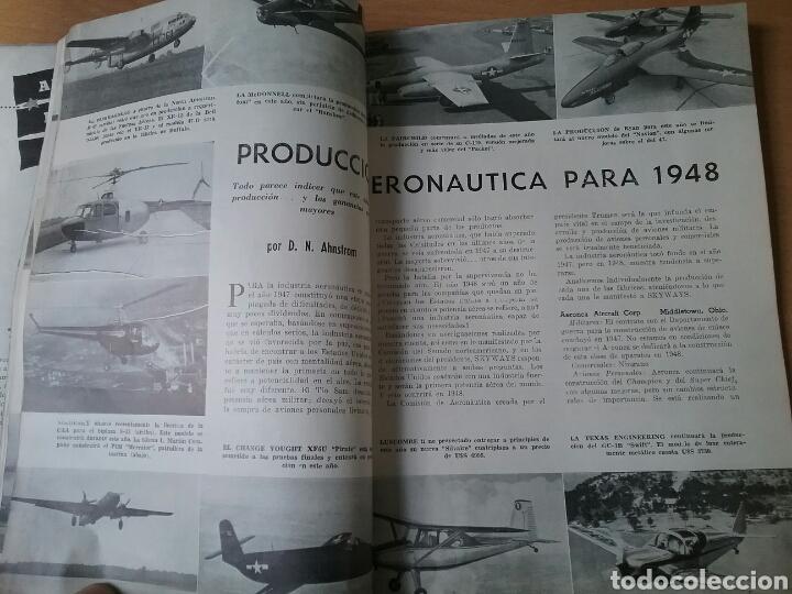Coleccionismo de Revistas y Periódicos: Lote 3 revistas antiguas de aviación Skyways.Años 40. - Foto 12 - 97738474