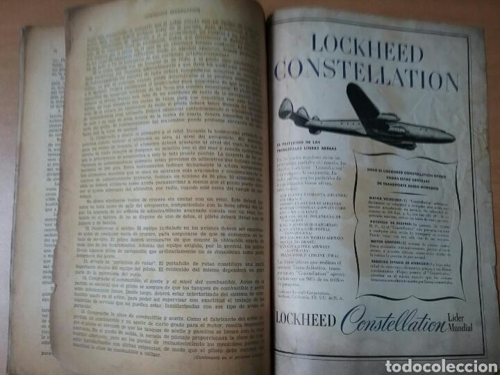 Coleccionismo de Revistas y Periódicos: Lote 3 revistas antiguas de aviación Skyways.Años 40. - Foto 16 - 97738474