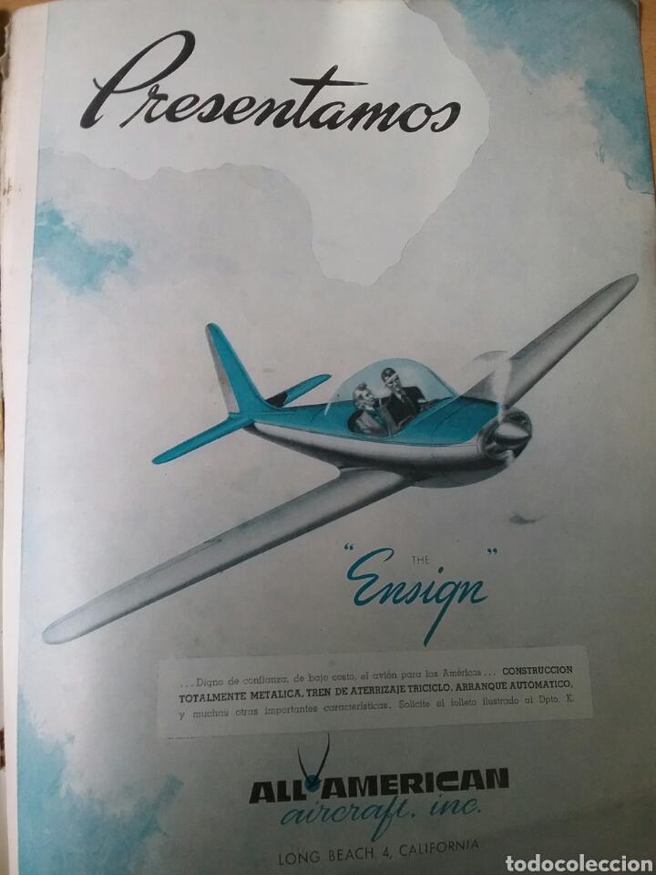 Coleccionismo de Revistas y Periódicos: Lote 3 revistas antiguas de aviación Skyways.Años 40. - Foto 17 - 97738474