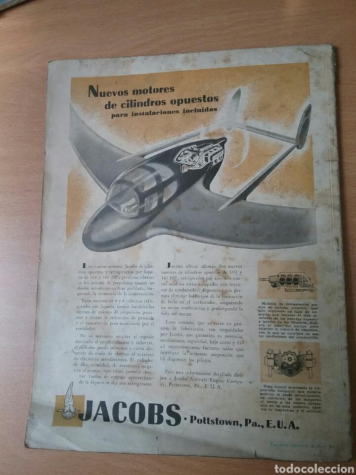 Coleccionismo de Revistas y Periódicos: Lote 3 revistas antiguas de aviación Skyways.Años 40. - Foto 18 - 97738474