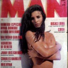 Coleccionismo de Revistas y Periódicos: REVISTA MAN Nº 72 OCTUBRE 1993 ANA ÁLVAREZ, ARANCHA DE BENITO, MEG RYAN, PETER COYOTE, CHARLES BARKL. Lote 97780463