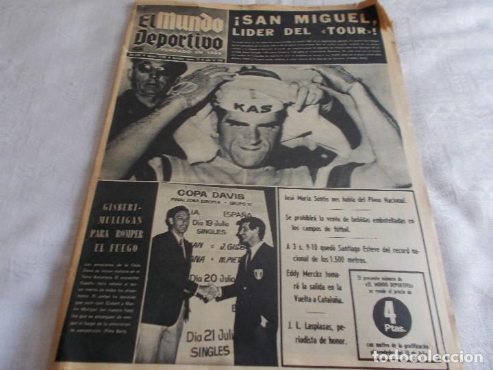 EL MUNDO DEPORTIVO 18 DE JULIO 1968 (Coleccionismo - Revistas y Periódicos Modernos (a partir de 1.940) - Otros)