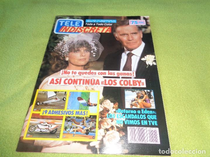 REVISTA TELEINDISCRETA Nº 115 LOS COLBY TELE-INDISCRETA (Coleccionismo - Revistas y Periódicos Modernos (a partir de 1.940) - Otros)