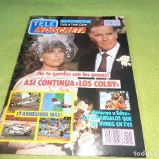 Coleccionismo de Revistas y Periódicos: REVISTA TELEINDISCRETA Nº 115 LOS COLBY TELE-INDISCRETA. Lote 97826563