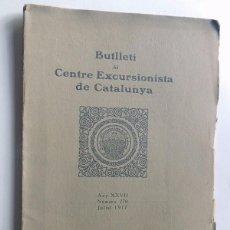 Coleccionismo de Revistas y Periódicos: VALLS DEL PALLARESA I CARDOS - ASCENSIÓ AL PIC DE CERTESCANS / CENTRE EXCURSIONISTA CATALUNYA 1917. Lote 97855371