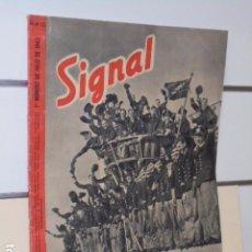 Coleccionismo de Revistas y Periódicos: REVISTA ALEMANA SIGNAL 1º NUMERO DE JULIO DE 1943 Nº 13. Lote 97950747