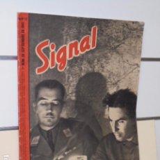 Coleccionismo de Revistas y Periódicos: REVISTA ALEMANA SIGNAL 1º NUMERO DE SEPTIEMBRE DE 1941 Nº 17. Lote 97952467