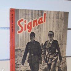 Coleccionismo de Revistas y Periódicos: REVISTA ALEMANA SIGNAL 1º NUMERO DE JUNIO DE 1941 Nº 11. Lote 97952615