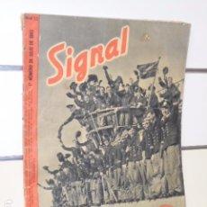 Coleccionismo de Revistas y Periódicos: REVISTA ALEMANA SIGNAL 1º NUMERO DE JULIO DE 1943 Nº 13. Lote 97956427