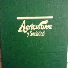 Coleccionismo de Revistas y Periódicos: REVISTA AGRICULTURA Y SOCIEDAD - JULIO SEPTIEMBRE 1979 - MINISTERIO DE AGRICULTURA. Lote 97969131
