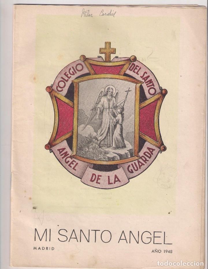 REVISTA MI SANTO ANGEL MADRID MARZO – ABRIL 1948 Nº 14 (Coleccionismo - Revistas y Periódicos Modernos (a partir de 1.940) - Otros)