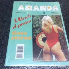 Coleccionismo de Revistas y Periódicos: AMANDA Nº 10 REVISTA EROTICA DE LOS 90. Lote 149991521