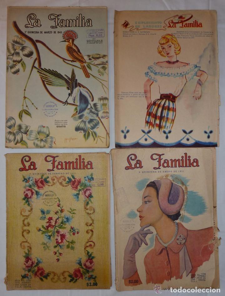 cd186fed3c Lote 14 revistas la familia - con patrones - España - 14 revistas femeninas