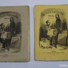 Coleccionismo de Revistas y Periódicos: PERIODICO UNIVERSAL EL SIGLO PINTORESCO, 2 AÑOS COMPLETOS, 1846 1847, TOMOS II Y III. GRABADOS. Lote 98155679