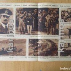 Coleccionismo de Revistas y Periódicos: 1929 SAN SEBASTIÁN, TRAINERA PASAJES DE SAN JUAN. BARCELONA, CARAVANA FASCISTA. MALAGA, FIESTAS. FIE. Lote 98238567