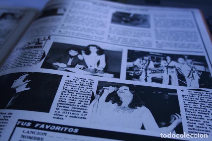 LOLA FLORES AGATA LYS ABBA 1977 (Coleccionismo - Revistas y Periódicos Modernos (a partir de 1.940) - Otros)