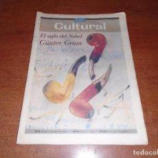 Coleccionismo de Revistas y Periódicos: ABC CULTURAL 9 OCTUBRE 1999 GÜNTER GRASS . Lote 98511031