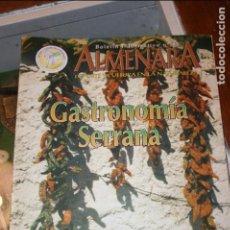 Coleccionismo de Revistas y Periódicos: ALBACETE, REVISTA ALMENARA AÑO 1988.JARDIN DE VILLACERRADA,EL MATAERO,EL ESPARTO,ONTALAFIA,40 PÁGS. Lote 98512791