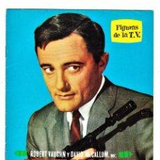 Colecionismo de Revistas e Jornais: FIGURAS DE LA T.V. Nº 16: ROBERT VAUGHN EL AGENTE DE C.I.P.O.L. ED. ESTE, 1965.. Lote 98647371