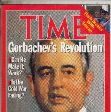 Coleccionismo de Revistas y Periódicos: REVISTA TIME 27 JULIO AO 1987. GORBACHEV´S REVOLUCION.. Lote 98652555