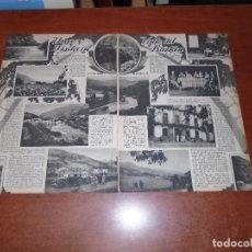 Coleccionismo de Revistas y Periódicos: RECORTE PRENSA 1933 VALLE DEL BAZTÁN. SUMBILLA, REPARACEA Y CASA SEÑORIAL EN REPARACEA. . Lote 98686523