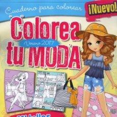 Coleccionismo de Revistas y Periódicos: COLOREA TU MODA N. 3 VERANO 2017 - CUADERNO PARA COLOREAR (NUEVA). Lote 98694327
