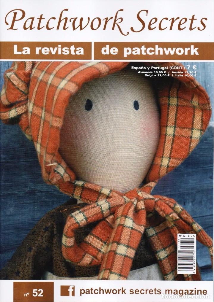 PATCHWORK SECRETS N. 52 (NUEVA) (Coleccionismo - Revistas y Periódicos Modernos (a partir de 1.940) - Otros)