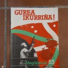 Coleccionismo de Revistas y Periódicos: PUNTO Y HORA DE EUSKAL HERRIA. . Lote 98718455