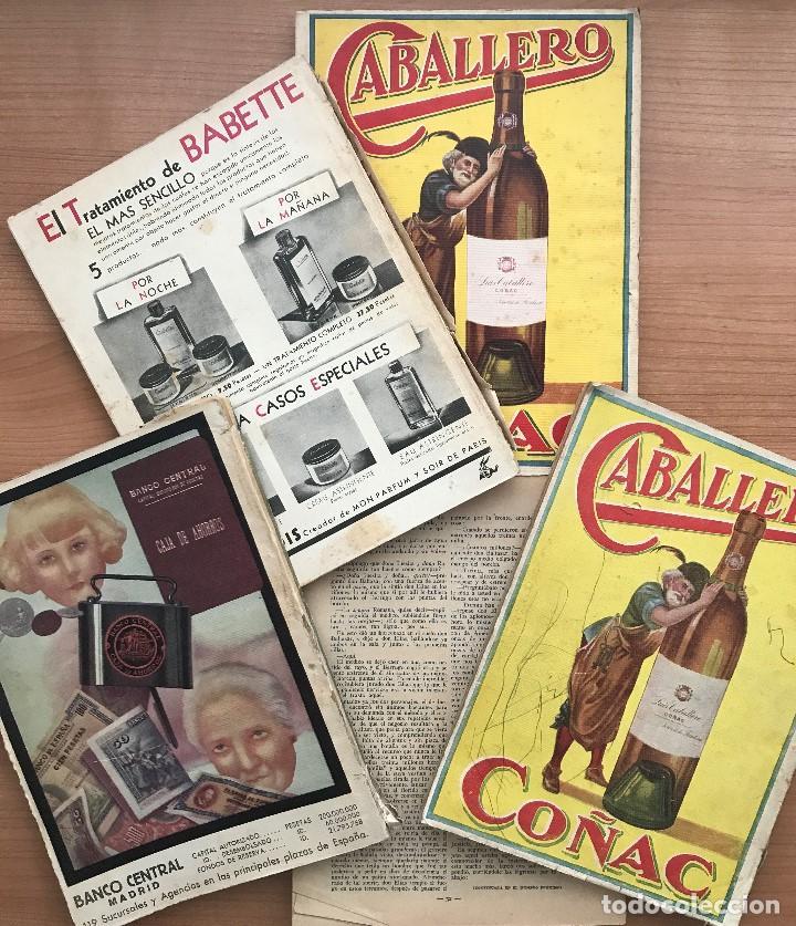 Coleccionismo de Revistas y Periódicos: LOTE 5 REVISTAS BLANCO Y NEGRO AÑOS 30 - Foto 7 - 98780715