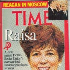 Coleccionismo de Revistas y Periódicos: REVISTA TIME 6 JUNIO AÑO 1985. RAISA. . Lote 98850867