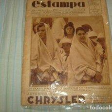Coleccionismo de Revistas y Periódicos: REVISTA ESTAMPA 30 OCTUBRE 1928. Lote 98970887