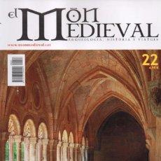 Coleccionismo de Revistas y Periódicos: EL MON MEDIEVAL N. 22 - EN PORTADA: ELS CLAUSTRES MONASTICS (NUEVA). Lote 99054447