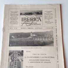 Coleccionismo de Revistas y Periódicos: REVISTA IBERICA Nº103 1915. CASA CODORNIU SAN SADURNI DE NOYA CURSO TIRO COSTA. Lote 99068771