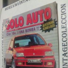 Coleccionismo de Revistas y Periódicos: SOLO AUTO, N.100 FEBRERO 1991. Lote 99101295