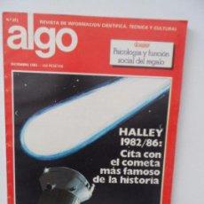Coleccionismo de Revistas y Periódicos: ALGO REVISTA Nº371 DICIEMBRE 1981 . Lote 99122343