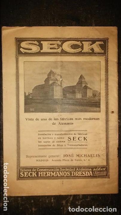 Coleccionismo de Revistas y Periódicos: REVISTA MOLINERÍA Y PANADERÍA JUNIO 1926 NÚM.255 - Foto 3 - 99181667