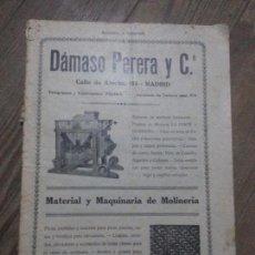 Coleccionismo de Revistas y Periódicos: REVISTA MOLINERIA Y PANADERIA SEPTIEMBRE DE 1922 NUMERO 192. Lote 99181955
