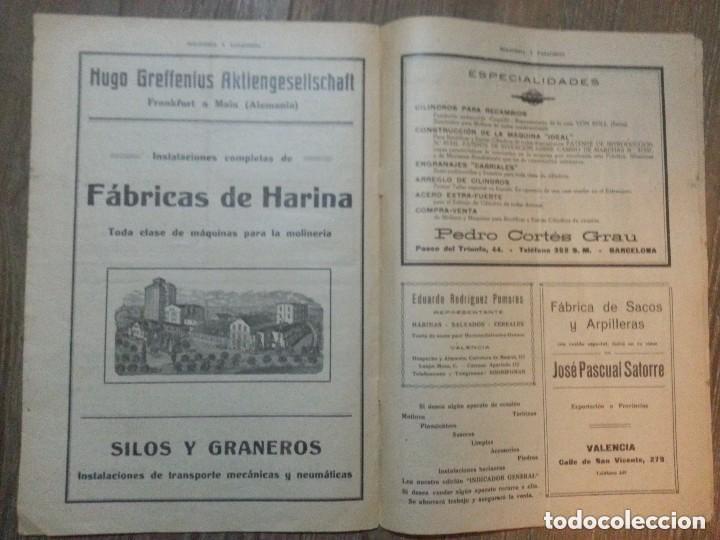 Coleccionismo de Revistas y Periódicos: REVISTA MOLINERIA Y PANADERIA SEPTIEMBRE DE 1922 NUMERO 192 - Foto 4 - 99181955