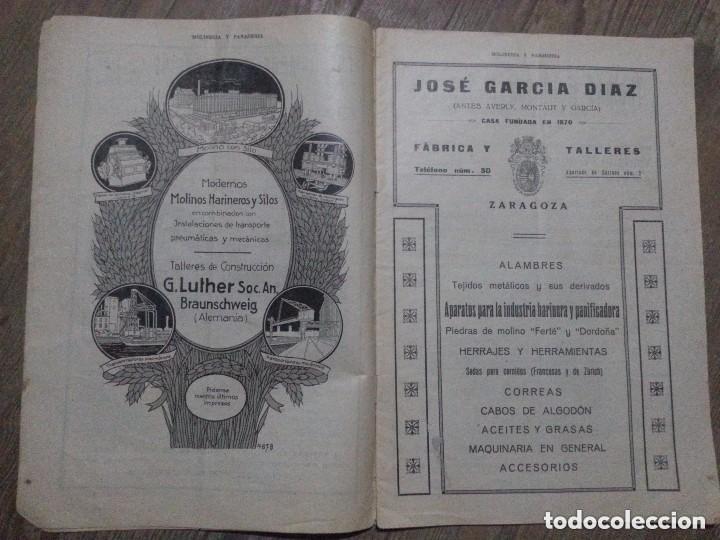 Coleccionismo de Revistas y Periódicos: REVISTA MOLINERIA Y PANADERIA SEPTIEMBRE DE 1922 NUMERO 192 - Foto 6 - 99181955
