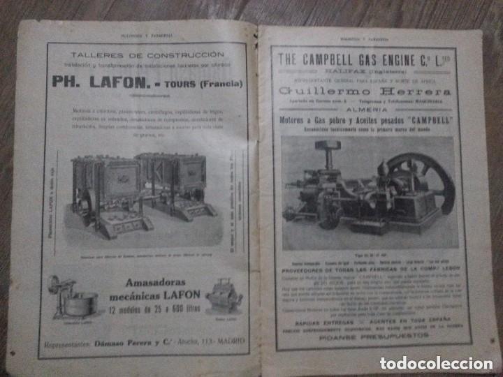 Coleccionismo de Revistas y Periódicos: REVISTA MOLINERIA Y PANADERIA SEPTIEMBRE DE 1922 NUMERO 192 - Foto 7 - 99181955